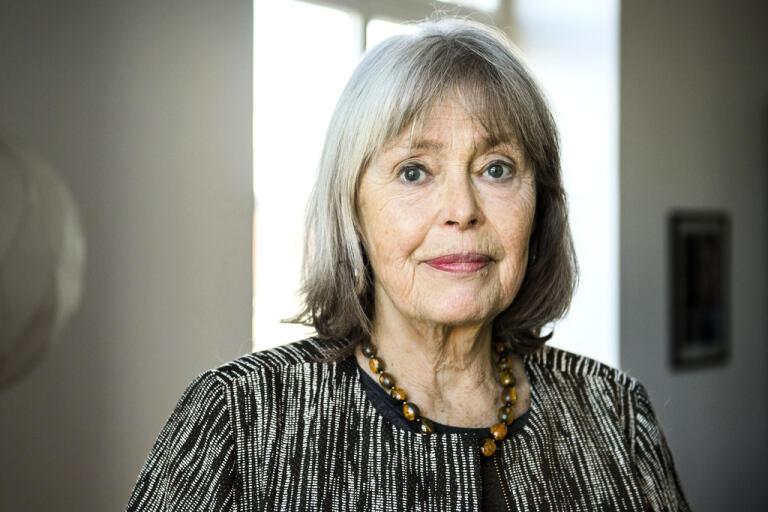 Författaren Agneta Pleijel drabbades av hjärnhinneinflammation och fick ligga i respirator. Arkivbild.