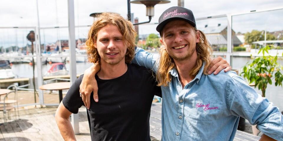 Elof och Aron Albrektsson. Baron Åhus