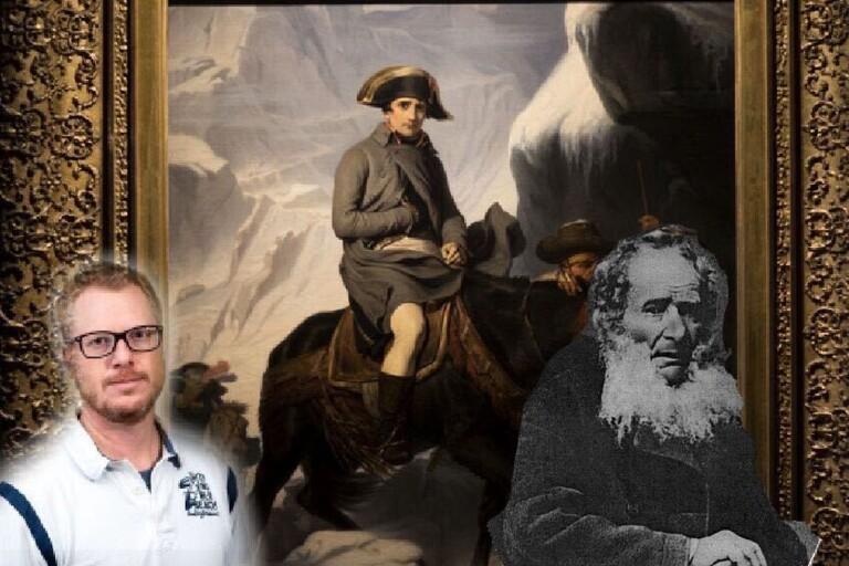 Skomakaren i Karlskrona räddade kejsar Napoleon