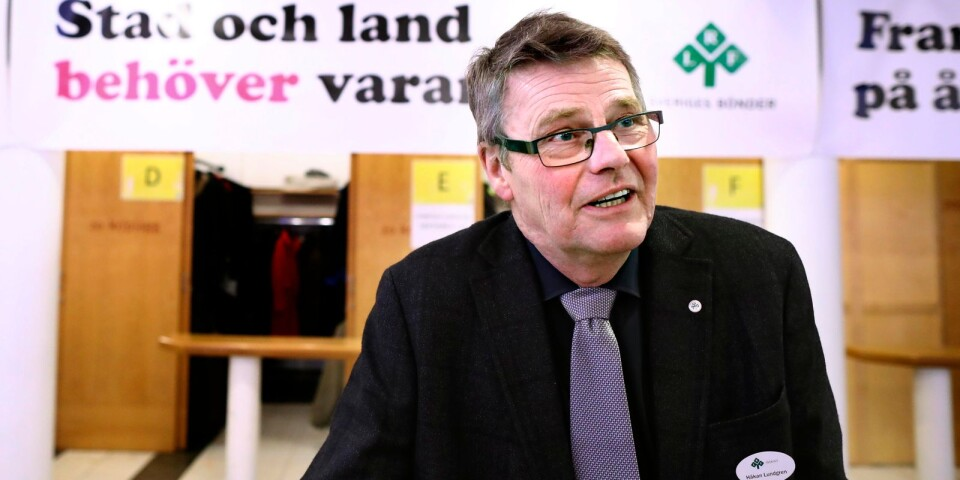 Håkan Lundgren, ordförande LRF Sydost