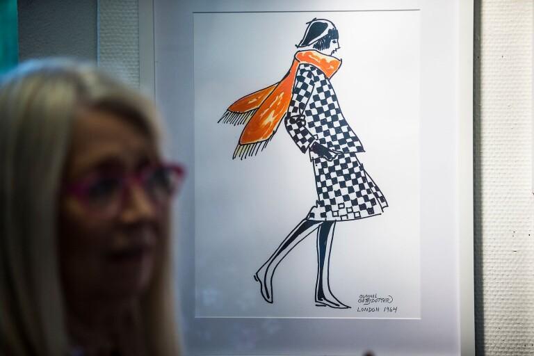 Gunnel Götesdotter, Bjärnum, är en av konstnärerna i årets runda med Mittskåne.