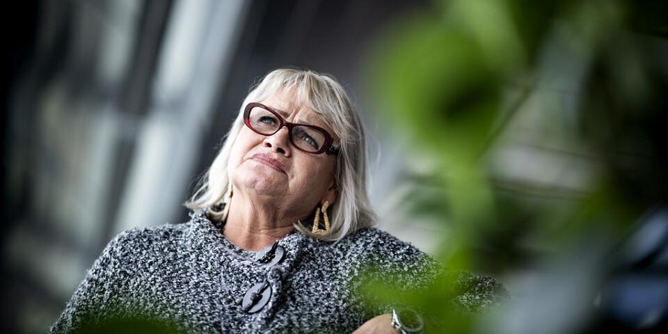 EU-parlamentarikern Soraya Post från Feministiskt initiativ hoppas på ytterligare en mandatperiod.