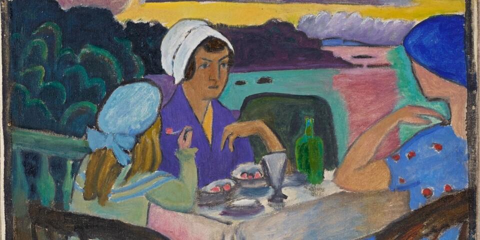 """Gabriele Münter: """"In der Erdbeerzeit"""" (1919)"""
