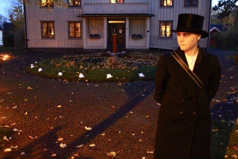 Lagom läskig spökvandring på Olssonska gården