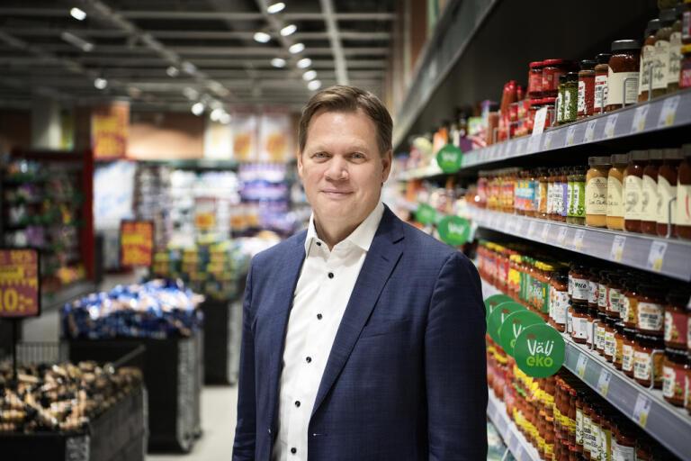 Anders Svensson, vd för Ica Sverige. Arkivbild.