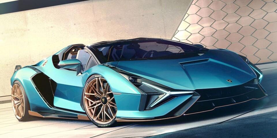 Lamborghinis första taklösa supersporthybrid heter Sián Roadster och får alla bilnördar att börja dregla. Designen är ett mästerverk och i maskinrummet arbetar en V12:a tillsammans med ett 48-volts mildhybridsystem. Totalt levereras 819 hästkrafter, vilket resulterar i att noll till hundra km/h rullar på 2,9 sekunder och toppfarten landar på 350. Siffran 19 på bakvingen symboliserar antalet exemplar som kommer att byggas och samtliga såldes blixtsnabbt. Det kanske inte är så konstigt eftersom namnet Sián är slangord för blixt på bolognesiska…