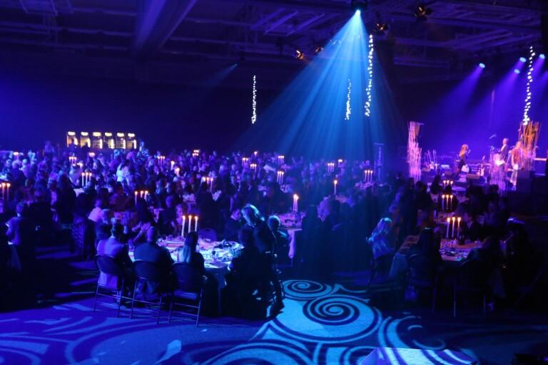 450 personer var samlade i Arenahallen vid galan förra året.