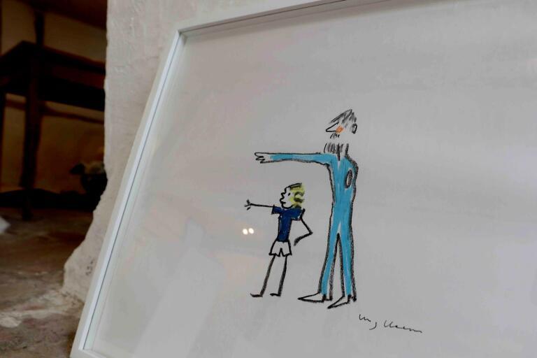 """Ett av Stig """"Slas"""" Claessons motiv som visas framöver på Rikstolvan."""