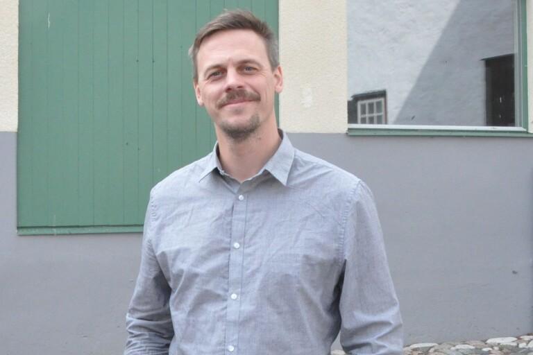 Oscar Roslund, rektor på Borgholms kulturskola som nu samarbetar med kommunens personalförening.