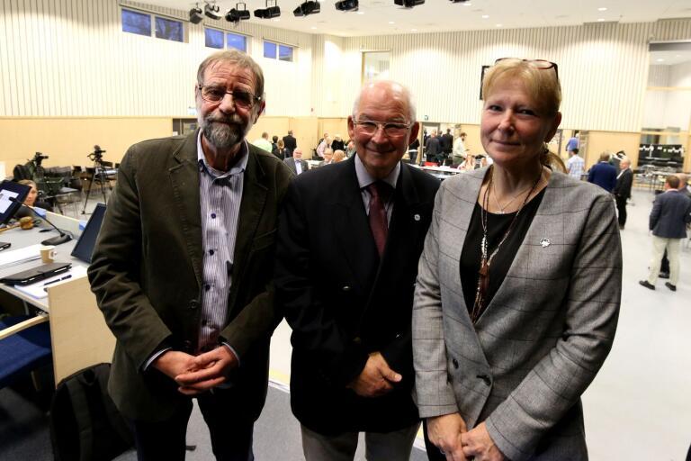 Bollebygds kommunfullmäktiges nyvalda presidium består av förste vice ordförande Otto Andreasson (S), ordförande Peter Hemlin (M) och andre vice ordförande Monika Svensson (SD).