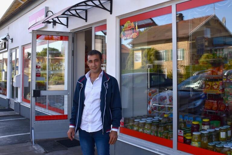 Näringsliv: Nu öppnar han sin nya livsmedelsbutik