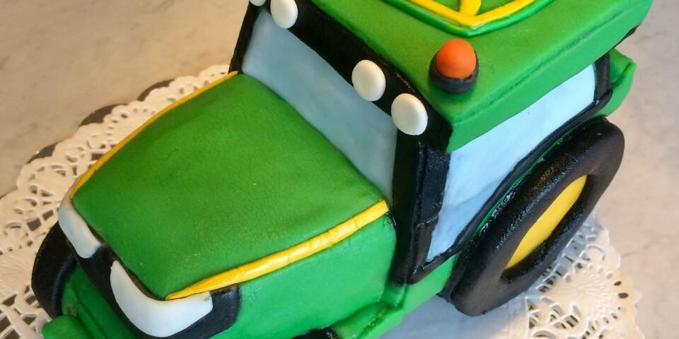 John Deere-tårtan blev en stor succé och satte fart på Saras tårtfabrik.