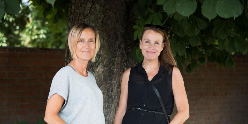 Annika Thunell och Katarina Melvinger