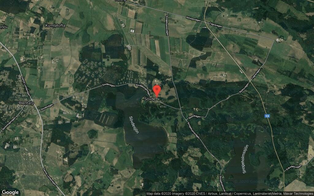 85 kvadratmeter stort hus i Sövde sålt för 2550000 kronor