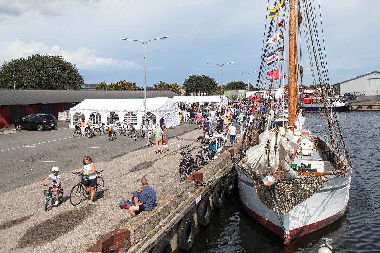 Årets Krusbärsfestival var den elfte i ordningen och hölls i hamnen.
