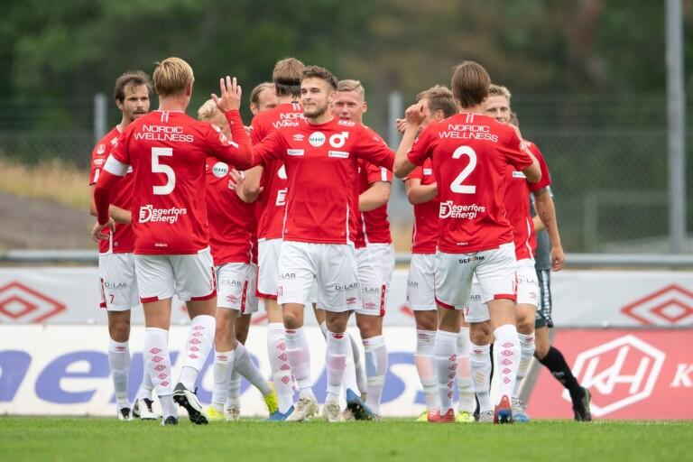 Degerfors har fått jubla många gånger under säsongen. Nu väntar Norrby på Borås Arena.
