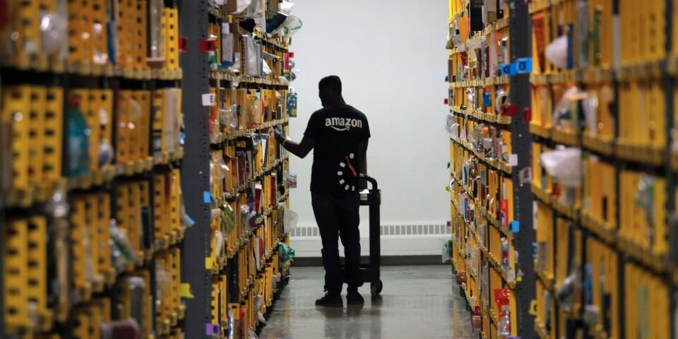 I USA uppskattas att över 40 procent av all näthandel går via Amazon, i Tyskland är det drygt 20 procent.