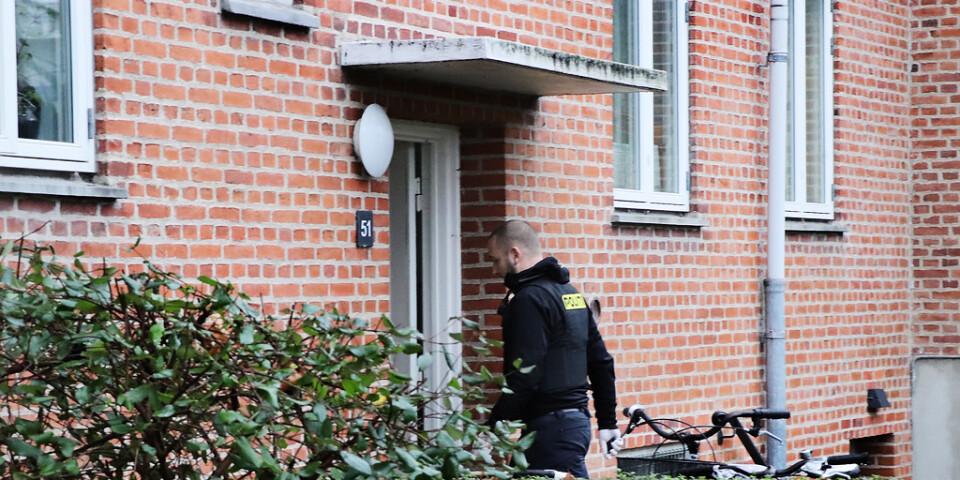Polisen slog på onsdagen bland annat till mot en adress i Herlev i utkanten av Köpenhamn.