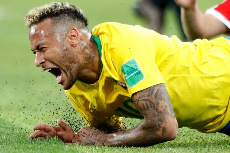 Bevisat: Neymar ligger mest av alla