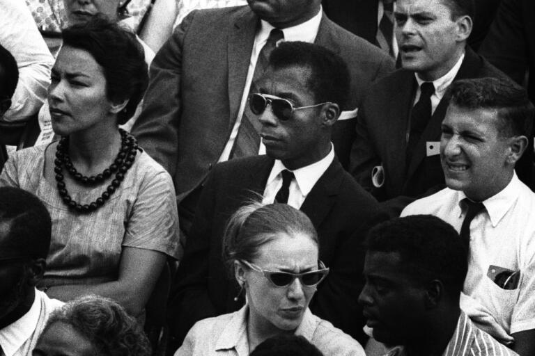 "James Baldwin i ""I am not your negro"". Pressbild."