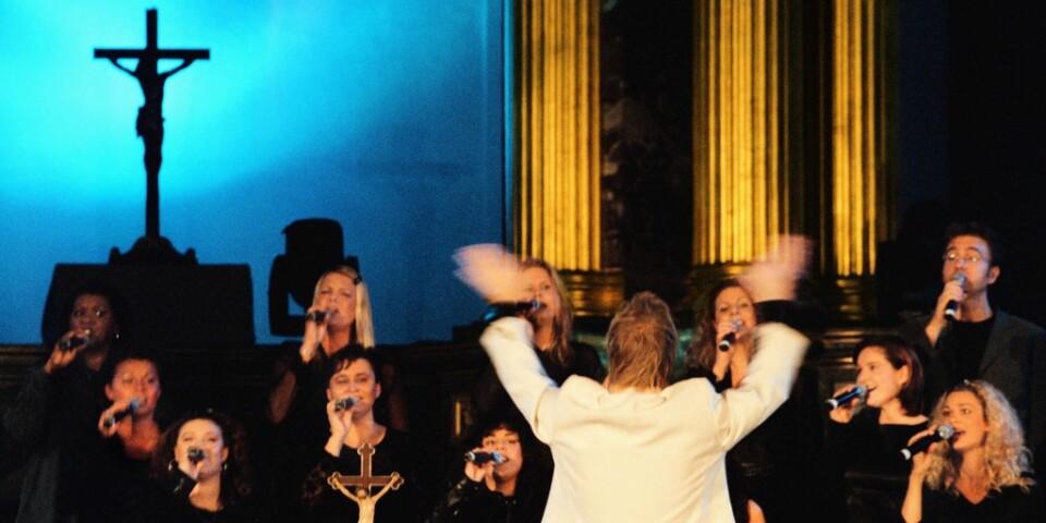 """Svenska kyrkan beskriver sig som """"en av landets största aktörer inom kulturens område"""". Arkivbild."""