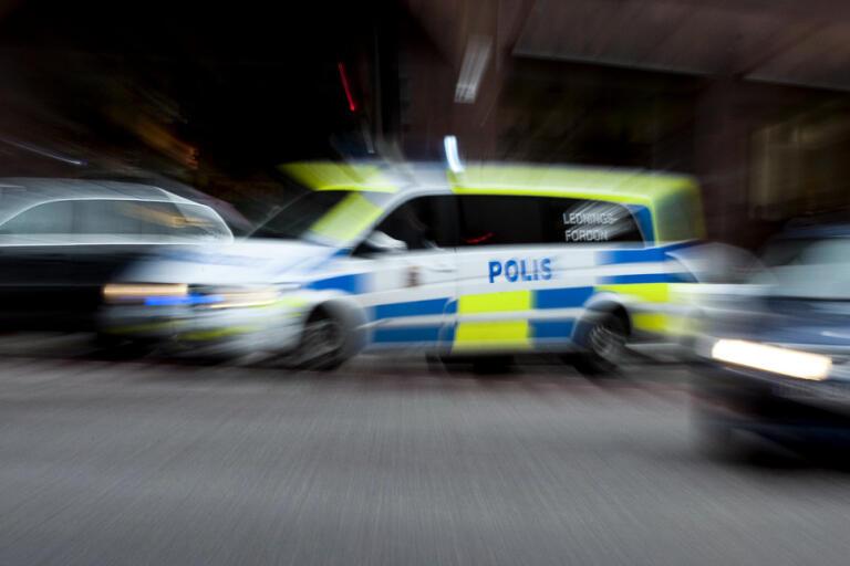 Polisen jagade en misstänkt rattfyllerist i Östersund. Arkivbild.