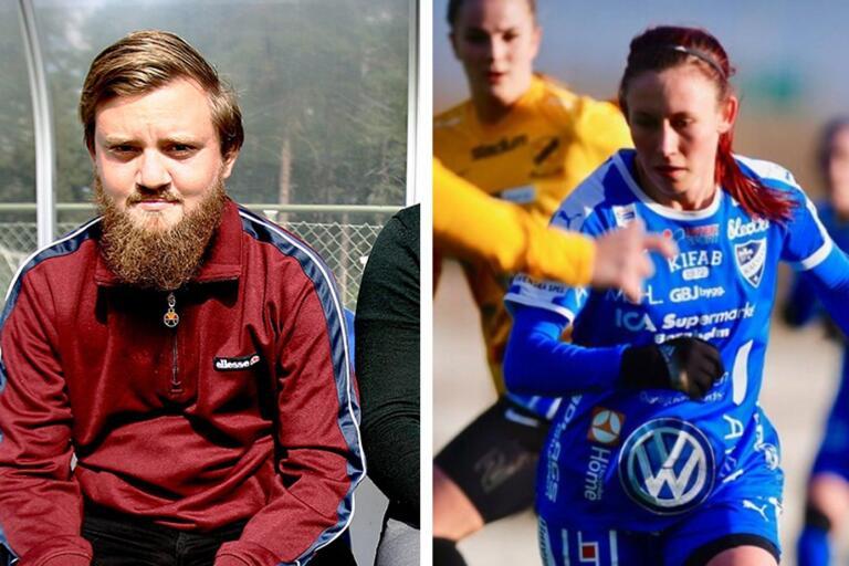 IFK Kalmar-tränaren Joakim Lindén Johansson och nyförvärvet Ofelia Medhammar chattade med läsarna under en timme på tisdagseftermiddagen.