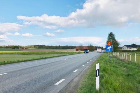 Trafikverket: Då sänks hastigheten på väg 19 – kan sätta käppar i hjulet för superbuss