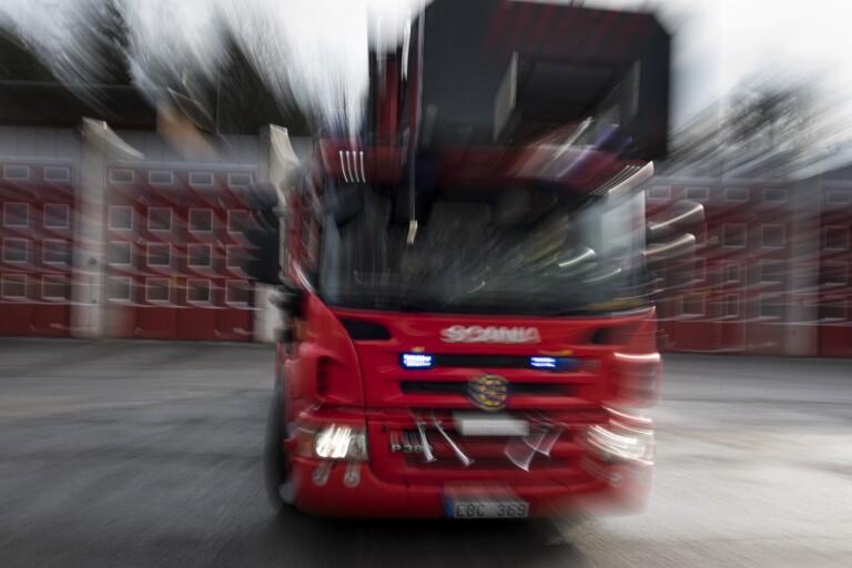 Sjuhärad: Misstänkt brott efter brand i ödehus
