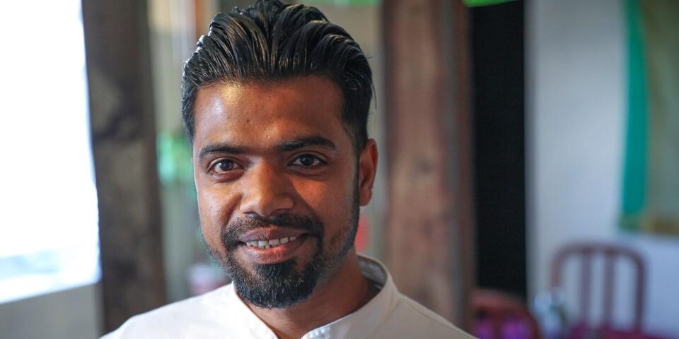 Innan Jasim Uddin hamnade på Österlen arbetade han i flera indiska kök i Malmö.