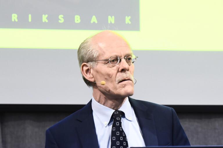 Riksbanken, på bilden chefen Stefan Ingves, har frågat företagen om läget i coronakrisen. Arkivbild.