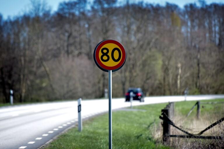 Hastighetssänkningen kvarstår på riksväg 23