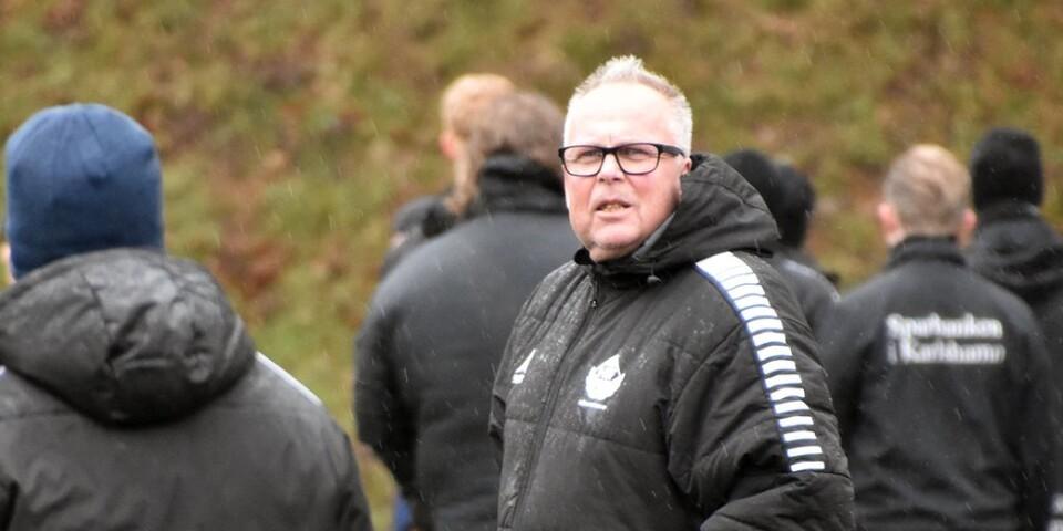 """Mats """"Matte"""" Andersson, ny tränare Hällaryds IF."""