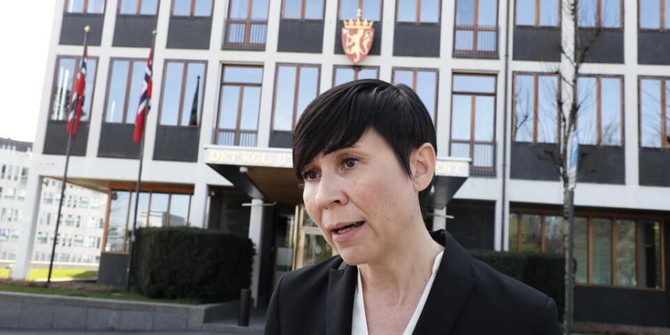 Norges utrikesminister Ines Eriksen Søreide (Høyre). Arkivbild.