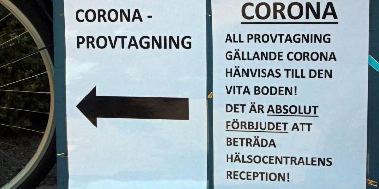 I dag införs familjekarantän i Borås