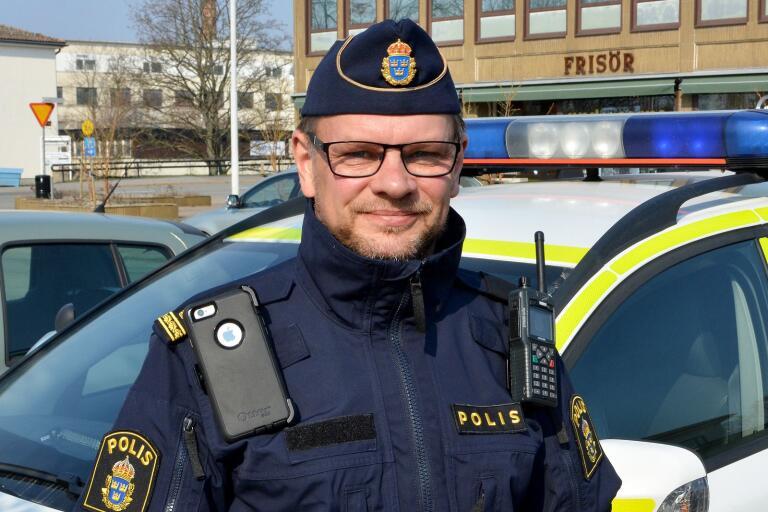 Kommunpolis Max Staude framhåller att polisens ambition framöver är att flytta droghandeln från Sölvesborgs mest centrala delar.