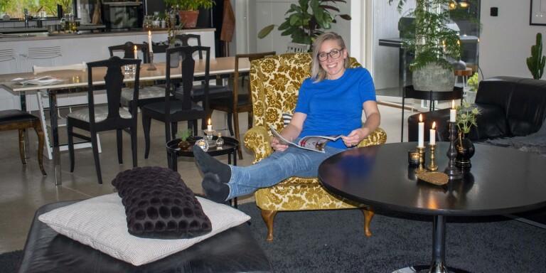 Malin Almström vill hjälpa folk att skapa harmoni och känslan av välbefinnande i sina hem.