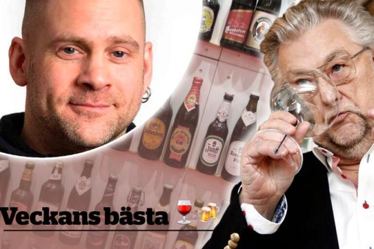 Robert Lagerström och Bengt I Johansson tipsar om öl och vin.