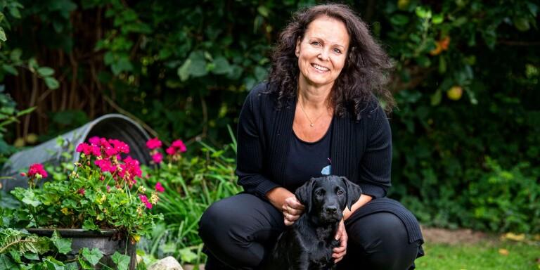 Carina har drivit butik i nära 25 år – inom sitt stora intresse