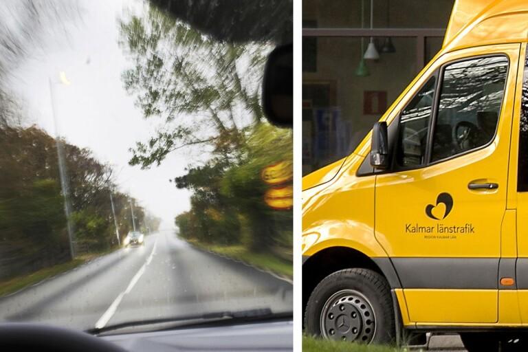"""KLT:s sjuktransport i vansinnesfärd: """"Min plikt att stoppa bussen"""""""