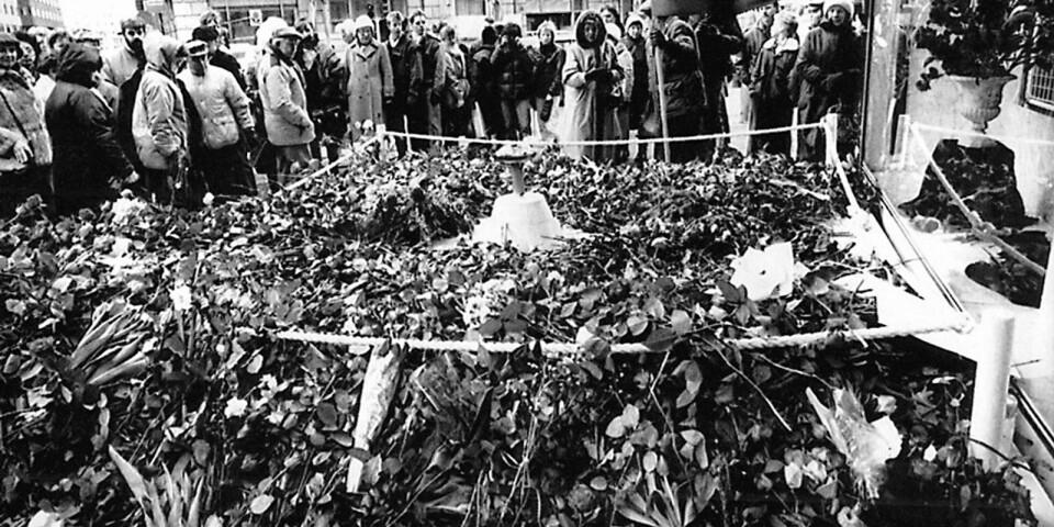 """Onsdagens presskonferens om vem som mördade Olof Palme blev en besvikelse. """"Bara för att spåren leder till Nybro så behöver det inte betyda att man kommer fram dit. Det vet alla som försökt åka tåg genom Sverige"""", skriver Ölandsbladets chefredaktör Peter Boström"""