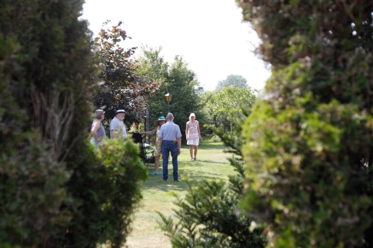 Årets öppen trädgård bjöd på återförening efter 43 år