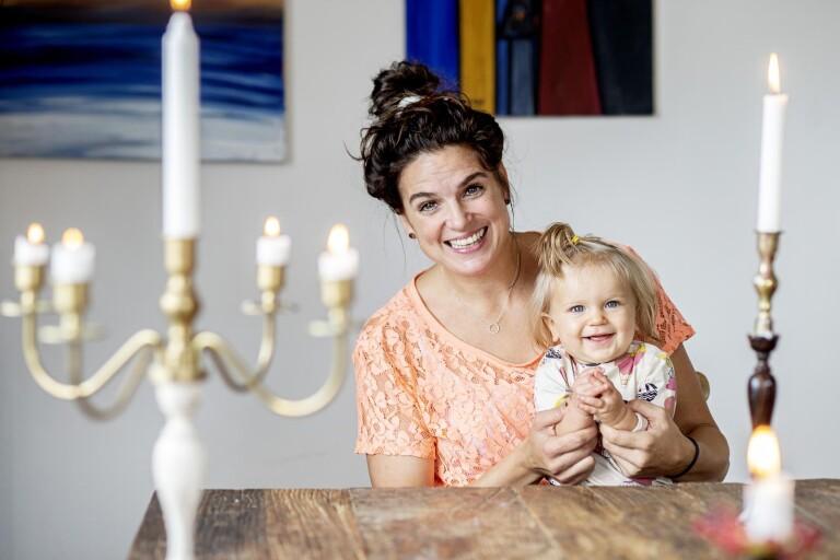 """En av Sveriges främsta mångkampare blev mamma mot alla odds: """"Jag vill ju leva och vara frisk för henne"""""""