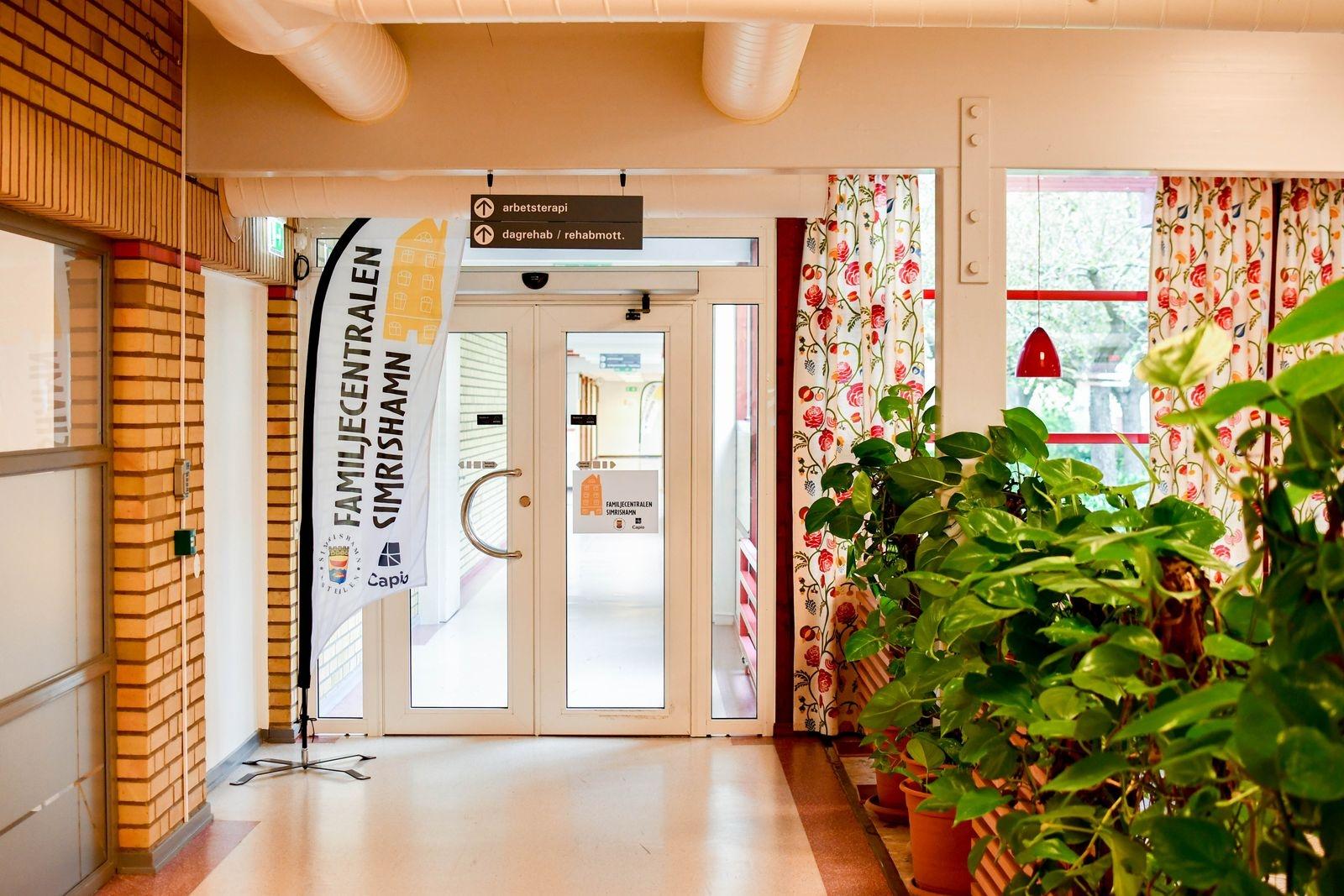 Familjecentralen finns på närsjukhuset i Simrishamn.