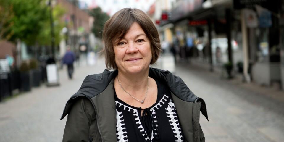 Pernilla Ekvall Liljeqvist, kultursamordnare i Karlshamn.