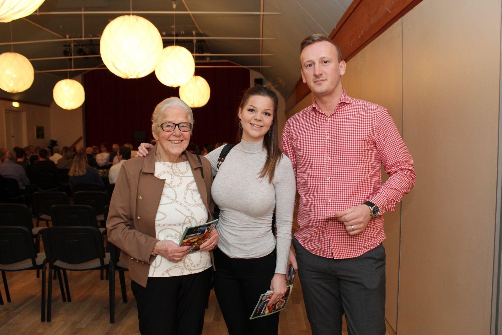 Monica Larsson, Maja Brandel och Mario Mijatovic.