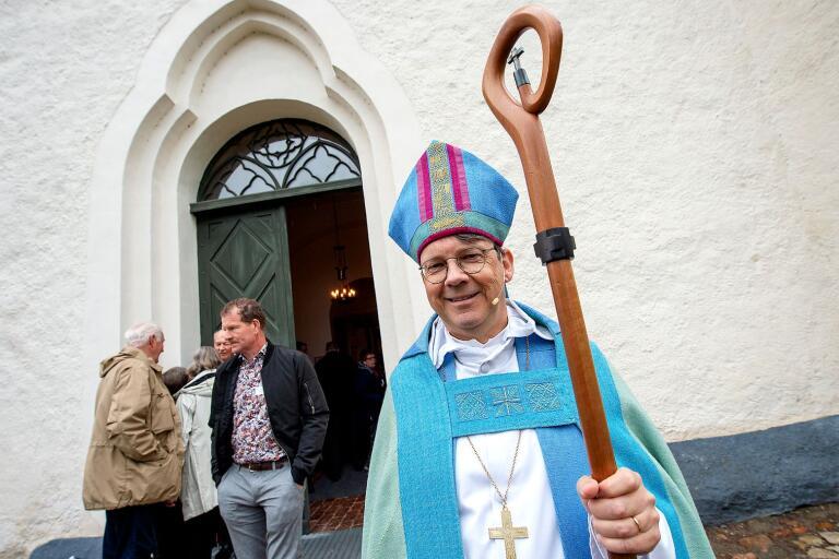 Biskop Johan Tyrberg ska i mitten av oktober besöka alla församlingar i Skytts kontrakt. I våras höll han en predikan i Ivetofta kyrka i samband med visitationen i Villands och Gärds kontrakt.