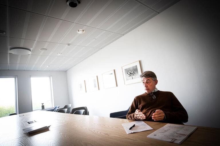 Robert Rydbeck, verksamhetschef på Rättspsykiatriskt centrum, menar att kliniken arbetar mycket med bemötande och värdegrund.