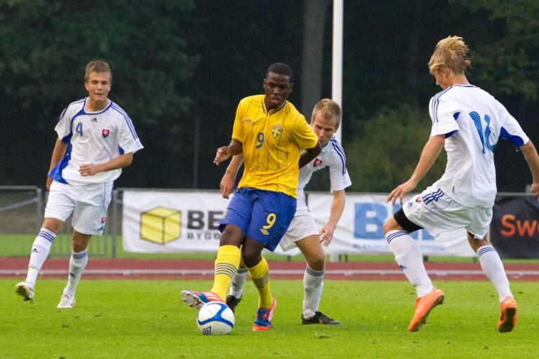 P17-landslaget kommer till Öland, bilden är från en match 2012 mot Slovakien.