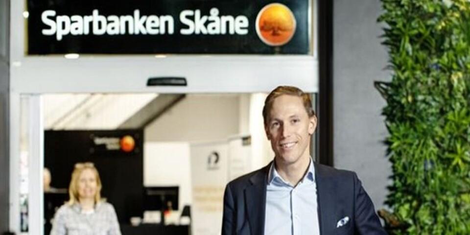 Rasmus Roos, 42 år,  blir ny vd för Sparbanken Skåne. Redan nu tar han över som vice vd. Han tillträder som vd i mars 2021.